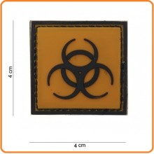 Patch Gommata cm 4.00x4.00 Biologiaal Materiale Pericoloso Art.444120-3596