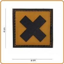 Patch Gommata cm 4.00x4.00 Irritant irritante Acido  Art.444120-3598
