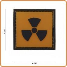 Patch Gommata cm 4.00x4.00 Radio Active Radiazioni Art.444120-3700