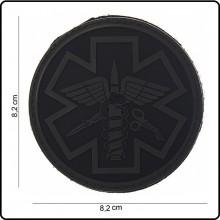 Patch 3D PVC Para Medic 118 Soccorso Sanitario Emergenza Infermieri Medici Emerson Art.444150-3723