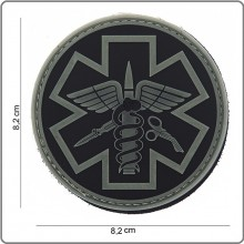 Patch 3D PVC Para Medic 118 Soccorso Sanitario Emergenza Infermieri Medici Emerson Art.444150-3724