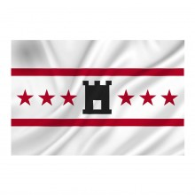 Bandiera Flag Drenthe 100x150 Eco Art.447200-090