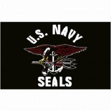Bandiera U.S. Navy Seals Nera Art.447200-135