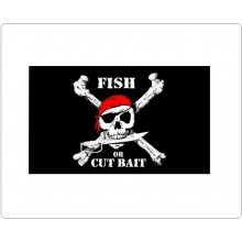 Bandiera Pirati Flag Fish or Cut Bait Art. 447256