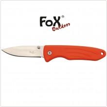 Coltello Serramanico Emergenza Rosso Alta Visibilità Protezione Civile 118 Soccorso Sanitario FOX Art.45751K