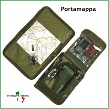 Portamappa Woodland Militare Art.469286