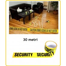 Nastro Security Zone Zone Tape Security Metri 30 Emergenza Siurezza Vigilanza Art.469362