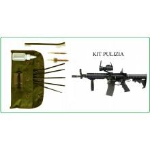 Completo Pulizia Kit Pulizia Armi M16 5.56 Completa di Tasca FOSCO Art.469402