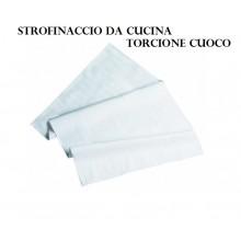 Strofinaccio Torcione da Cucina Bianco Cotone  Art.602001  Cotone 100%