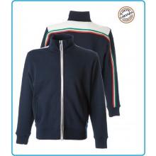 Felpa Maglia Maglione Zip Roma Navy Sport Sicurezza Soccorso 118 JRC Art.987592