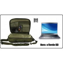 Borsa o Zaino Porta Computer con Diverse Tasche Interne ed Esterne Possibilità Trasporto Arma INC 101 Art.359610