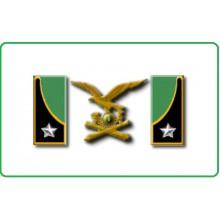 Mostrine - Alamari Giacca o Camicia Esercito Italiano Artiglieria Da Montagna Art.NSD-A-M