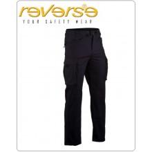 Pantalone BDU Multitasche Blu Nevy FULL BASIC Originale REVERSE Soccorritori 118 Protezione Civile Volonatriato Art. 507UT