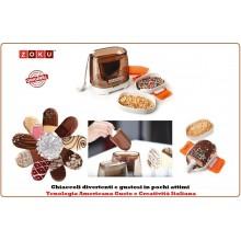 Chocolate Station Per Decorare con Il Cioccolato Dolci e Gelati ZOKU Art.ZK CS
