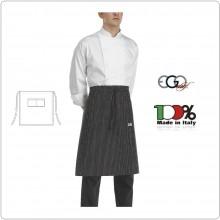 Grembiule Falda Vita Con Tascone Sir cm 70x70 Ego Chef Italia Art.6101054A