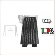 Grembiule Falda Vita Con Tascone Chen-da cm 70x70 Ego Chef Italia Art.6101115A