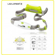 Torcia Frontale Professionale Led Lenser NEO colore Gialla Protezione Civile Soccorritori Alpinismo Sport Running Art.6114