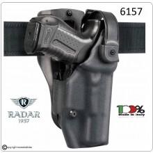 Fondina Thunder D-Shell Professionale Nera Livello Sicurezza 3° Polizia Carabinieri Vigilanza Art.6157