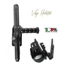 "Porta Bastone Tonfa in Polimero Polizia Carabinieri Vigilanza GPG IPS Vega Holster Italia ""TONFA MASK HOLDER"" Art. 8VP64"