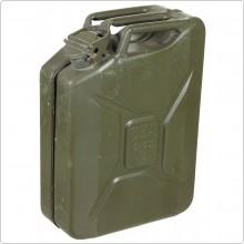 Tanica Per Carburante Benzina Gasolio Militare Lt. 20 Verde OD Art. 627976
