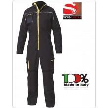 TUTA EXPLORER 4006 Blu Giallo Protezione Civile SIGGI Art.62TU0336