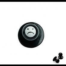 Bottone Funghetto Per Giacca Cuoco Sad Triste Ego Chef Italia Art. 640417