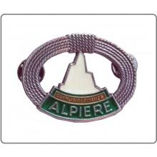 Distintivo in metallo Alpiere Guardia di Finanza Argento Art.GDF-AA