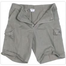 Pantaloni Bermuda Moleskin Pantaloni Corti Short BDU Classico Verde OD MIL-TEC Art.119273.