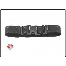 Cinturone Sgancio Rapido Militare Nero Cordura Rinforzata H5 Carabinieri Polizia Vigilanza Art.241235-N