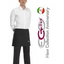 Grembiule Falda Banconiere Con Tascone Black cm 40x70 Art.6100002N