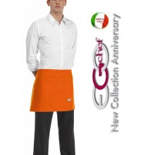 Grembiule Falda Banconiere Con Tascone Orange cm 40x70 Art.600013C