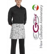 Grembiule Falda Banconiere Con Tascone Chefwear  cm 40x70 Art.6100101A