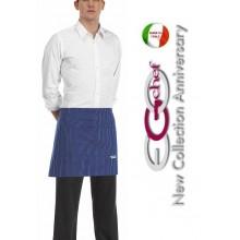 Grembiule Falda Banconiere Con Tascone France cm 40x70 Ego Chef Art.610005C