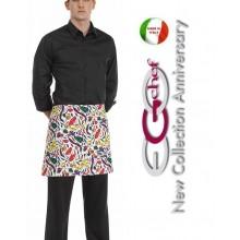 Grembiule Falda Banconiere Con Tascone Spezie cm 40x70 Ego Chef Art.6100108A