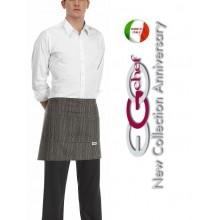 Grembiule Falda Banconiere Con Tascone Etnic  cm 40x70 Ego Chef Art.700109