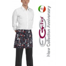 Grembiule Falda Banconiere Con Tascone Jap Jappone cm 40x70 Art.6100119A