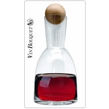 Decanter Decantador de Vino Vin Bouquet 24 x 12.5 x 12.5 cm Art.FIA316