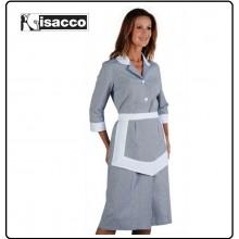 Camice Lipari Isacco Con Grembiulino Rigatino Nero Art.007361