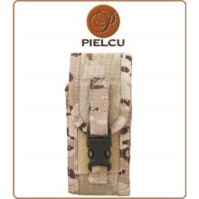 Fodero Universale con aggancio Cinturone M.O.L.L.E. per Coltello Mimetico Desert  Versione Tattica Militare Pielcu Art.78577