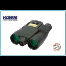 Binocolo Konus 8X32 con Laser Incorporato Caccia Militare Golf Art.7926