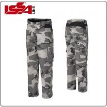 Pantalone Bermuda Militare da Lavoro ISSA  ZIP Mimetico Urban o Night Art.8029N