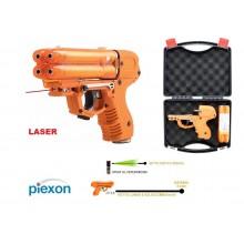 Piexon JPX6 Laser Pistola al Peperoncino Piexon JPX6 Compact Ricaricabile - 4 colpi inclusi Versione Italia - Libera vendita libero porto Art.K8200-1009