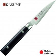 Coltello Professionale Giapponese Damasco 32 Strati KASUMI Verdura - Chef con lama da 8 Cm Art. 82008
