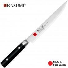 Coltello Professionale Giapponese Damasco 32 Strati KASUMI Carving Arrosto - Chef con lama da 20 Cm Art. 84020