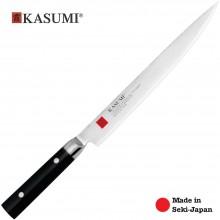 Coltello Professionale Giapponese Damasco 32 Strati KASUMI Filettare - Chef con lama da 24 Cm Art. 86024
