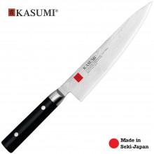Coltello Professionale Giapponese Damasco 32  KASUMI Chef con lama da 20 Cm Art. 84020