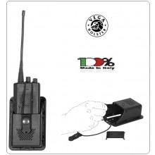Porta Radio in Polimero Stampato a Iniezione Vega Holster Italia Art.8VRH00