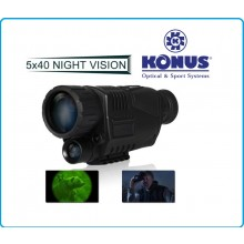 KONUS Konuspy-6 Visore Notturno 5x IR Infrarossi per Caccia e Visione di Notte Art.7927