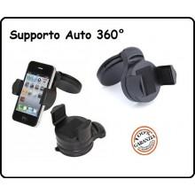 Supporto da Auto Iphone Cellulari  IPOD  MP3  MP4  Universale Art.SUPP-1