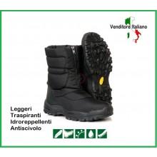 Anfibio Stivaletto Scarponcino Polacco Militare Dopo Sci Doposci Termico Nero Snowboots IN ESAURIMENTO Art.235201